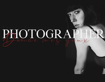 Design for portfolio photographer