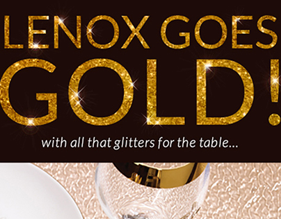 1/7/18 Lenox Goes Gold Email