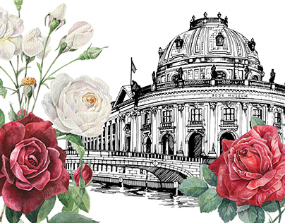 """Illustrations for """"The Rose"""""""