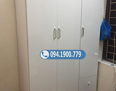 Tủ nhựa đựng quần áo 3 cánh đơn giản TNL3.5