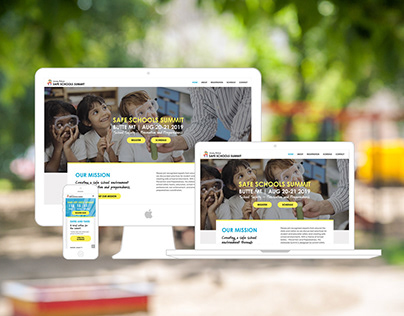 Jeremy Bullock Safe Schools Website Design