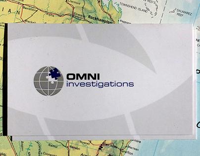 OMNI Logo Design + Business card