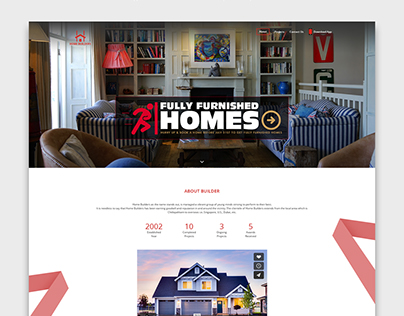 Responsive Real Estate Website for Home Builders