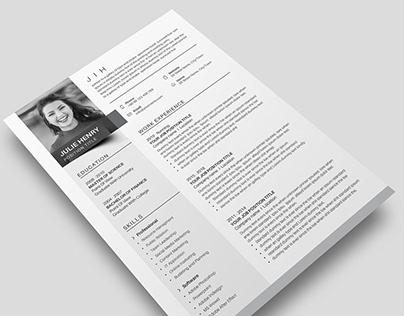 Elegant Resume / CV