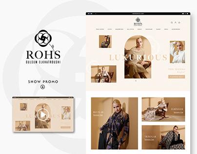 ROHS | WEB, INSTAGRAM DESIGN