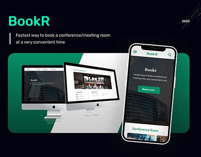 BookR. Booking meeting room website.