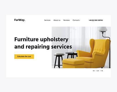 Landing Page | Furniturerepairing services