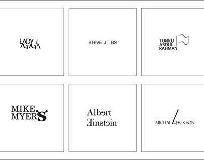 Famous People in Typography