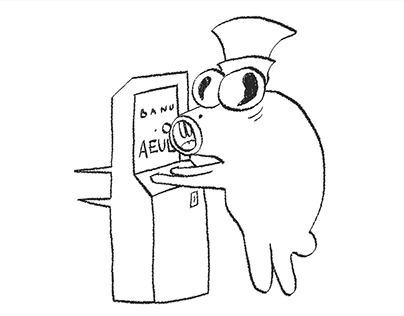 Aeul - Animated Graffiti Character