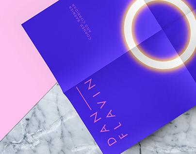 Dan Flavin - Gallery Invitation