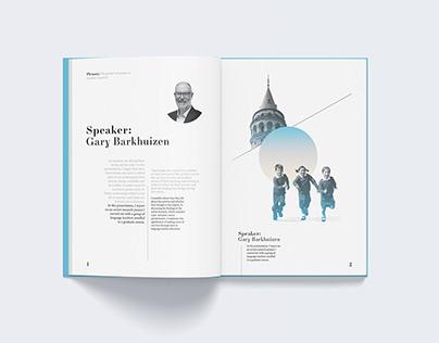 IATEFL RESIG Conferance Booklet Design