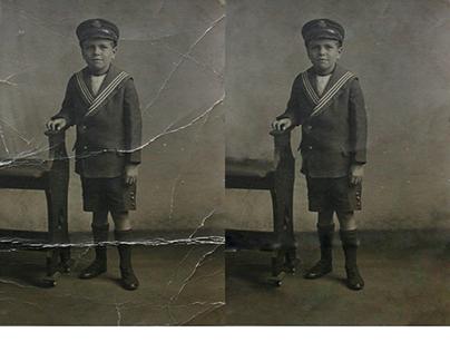 Projeto 2  Restauração de fotos danificadas