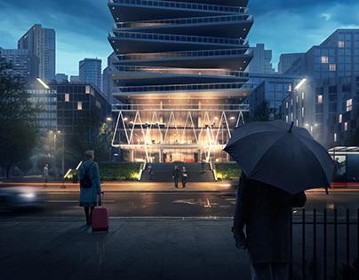 ArchViz Project: After Rain