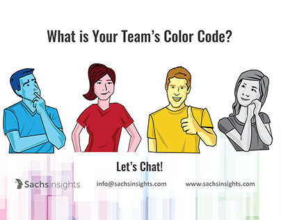Team Color Code Persona Infographic