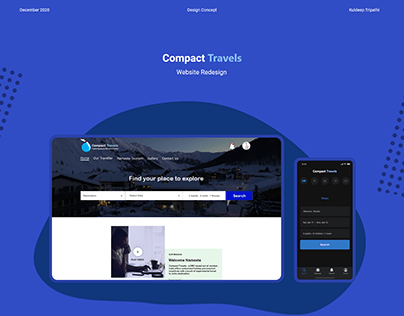 Compact Travels Website