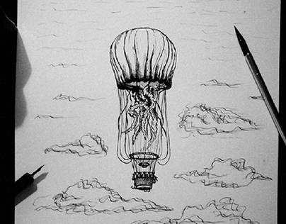 Hot air jellyfish