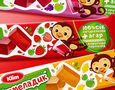 """Jelly candies """"Marmeladik"""". Packaging Design"""