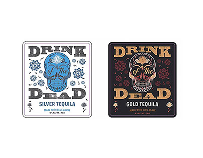 Drink of the Dead tequila label extension