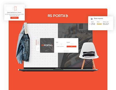 RS Portal - warehouse CRM management system