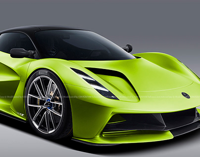 2020 Lotus Evija Green