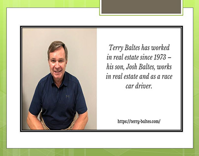 Terry Baltes is an experienced commercial real estate b