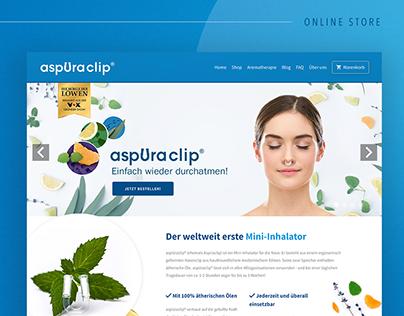 AspUraclip // Online Store.