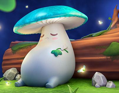 Sleepy mushroom