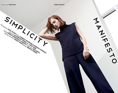 Simplicity Manifesto