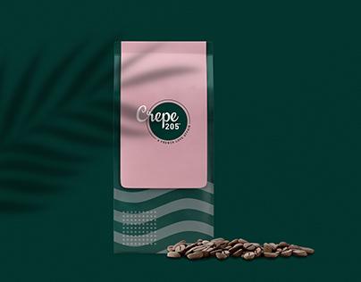 Brand Identity Design for Crepe 205°