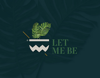 LET ME BE Logo & Identity Design