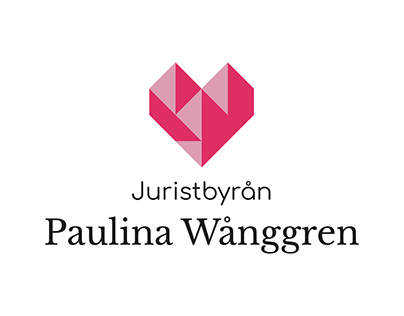 Juristbyrån Paulina Wånggren graphic profile - 2018