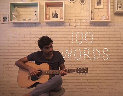 100 Words   Prateek Kuhad (Music Video)