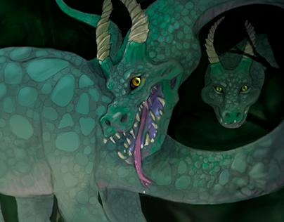 Illustration   Children's book   dragons