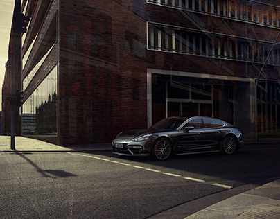 "CGI + Photography ""Porsche Panamera Timeline"""
