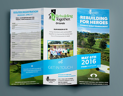 Tri-Fold Brochure | Golf Event
