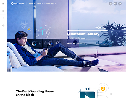 Qualcomm.com Redesign