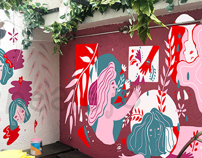 Mural Amor and Rosas (2019)