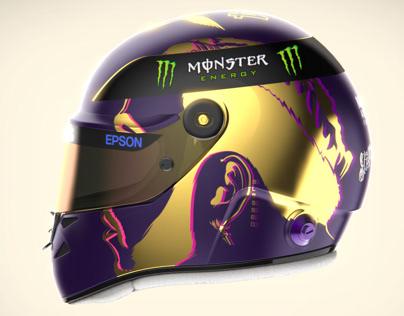 Lewis Hamilton Helmet Design