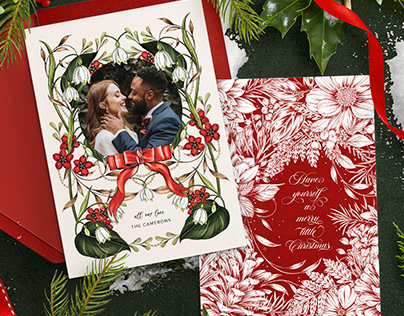Zola x Littlepatterns Holiday Card Collection