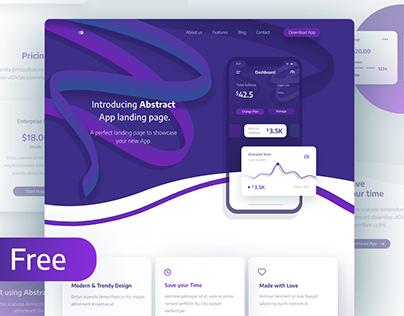 FREEBIE- App landing page