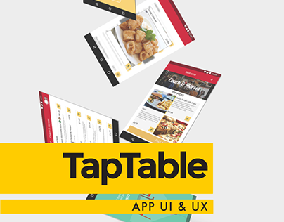 Tap Table App Design #MadeWithAdobeXD