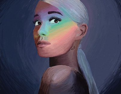 Ariana Grande Portrait