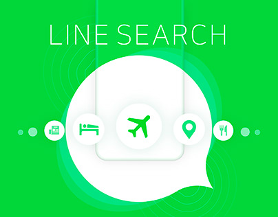 LINE Messnger : LINE Search _Intern Project