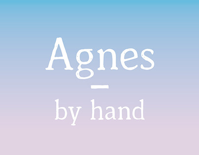 Agnes - by hand