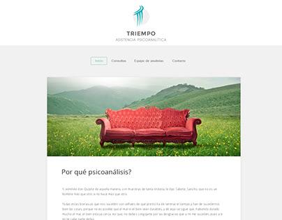 Página web simple - Triempo