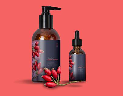 Rose of Bulgaria - Cosmetic brand - Redesign