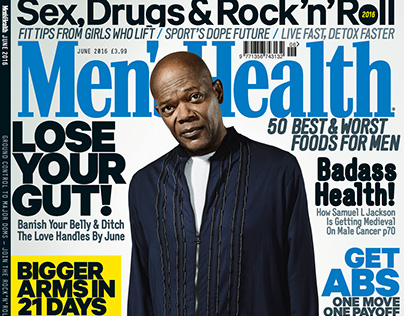 Editorial Retouch |Men's Health UK Cover Story