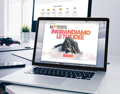 Benedetti Pubblicità | branding - sito WP