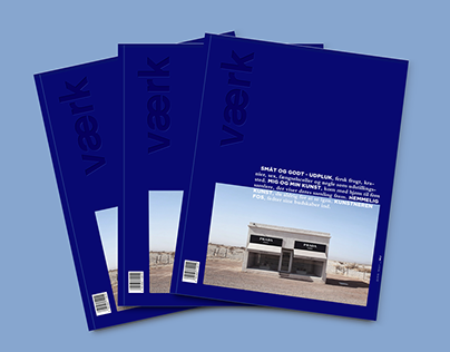 Magazine redesign VÆRK   Editorial Design