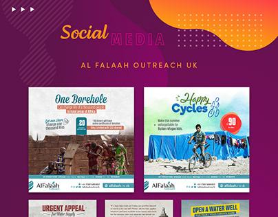 Al Falaah Outreach UK - Social Media